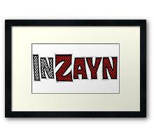 Sami Zayn - InZayn Framed Print