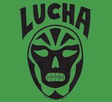 Lucha Wrestling Kids Tee