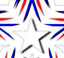 radiant star Sticker