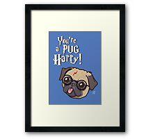 Harry Pug Framed Print