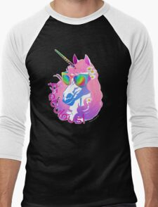 Fabulous Unicorn Princess Men's Baseball ¾ T-Shirt