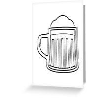Beer Beer Glass thirst Greeting Card
