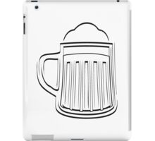 Beer Beer Glass thirst iPad Case/Skin