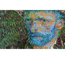 Vincent van Gogh Generative Portrait Variant Photographic Print