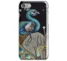Mrs Peacock iPhone Case/Skin