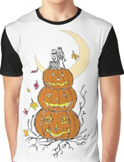 Halloween Wedding - Day of the Dead Graphic T-Shirt
