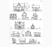 Sketching a Neighborhood Kids Tee