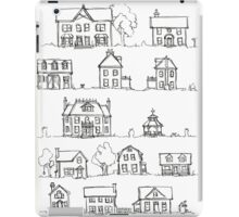Sketching a Neighborhood iPad Case/Skin