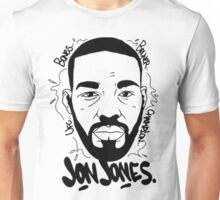 Jon Bones Jones Drawing Unisex T-Shirt