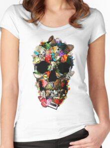 Fragile Skull 2 Women's Fitted Scoop T-Shirt