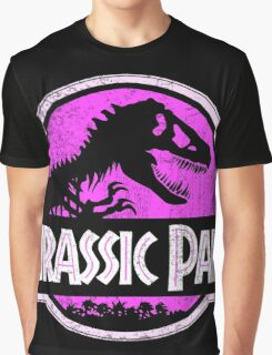 Jurassic Park Logo Grunge Graphic T-Shirt