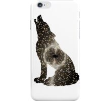 Black Hole Wolf iPhone Case/Skin