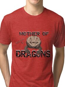 Mother of Bearded Dragons Tri-blend T-Shirt