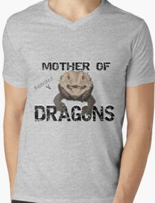 Mother of Bearded Dragons Mens V-Neck T-Shirt