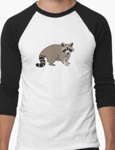 Cute Realistic Cartoon Raccoon T-Shirt