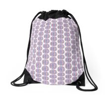 Striped balls Drawstring Bag