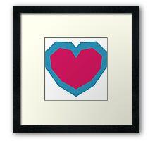 Full Heart Zelda Framed Print