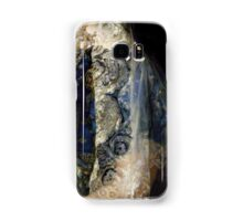 Closeup of Antique Spanish lace Mantilla, detailed dress Samsung Galaxy Case/Skin