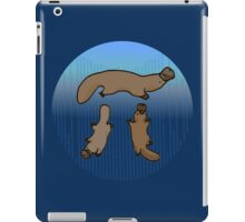 """Platypi"" -- Three Platypuses Greek Pi iPad Case/Skin"