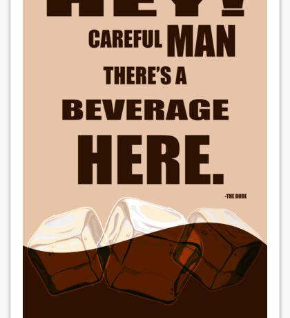 The Big Lebowski movie quote Sticker