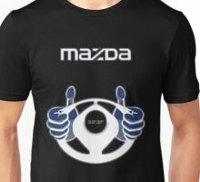 Mazda Eternal Flame Logo Blue Unisex T-Shirt