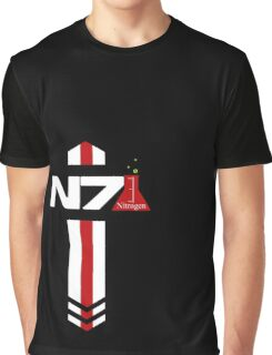 N 7 Nitrogen Effect Graphic T-Shirt