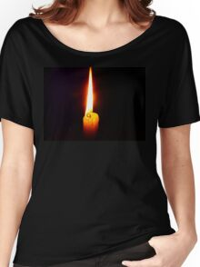 Candle Flame Women's Relaxed Fit T-Shirt