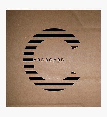 Cardboard  Photographic Print