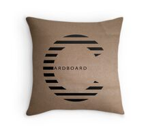 Cardboard  Throw Pillow
