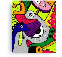 Mo-ism Abstract Art 4 Canvas Print