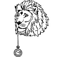 Lion of Time Photographic Print