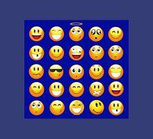 dark blue emoji Unisex T-Shirt