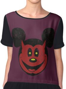 Devil Mickey Chiffon Top