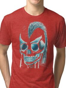 Punk Skull Tri-blend T-Shirt
