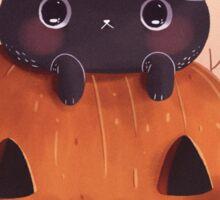 Pumpkin Kitty Sticker