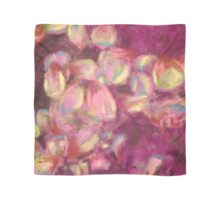 Abstract rose petals Scarf