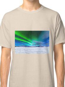 Intense display of Northern Lights Aurora borealis Classic T-Shirt