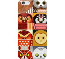 North American Owls iPhone Case/Skin