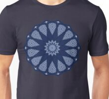 Navy and White  Unisex T-Shirt