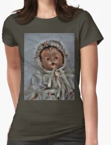 Old Time Doll Baby Womens Fitted T-Shirt