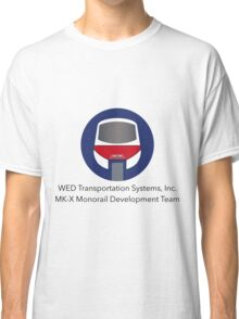 MK-X Monorail Development Team Classic T-Shirt