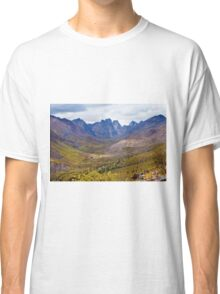 Tombstone Mountains fall colors Classic T-Shirt