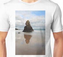 Sango Bay Beach Rock Reflection Unisex T-Shirt