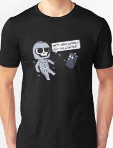 Lights out! Unisex T-Shirt