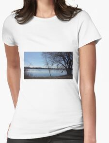 Water  Womens Fitted T-Shirt
