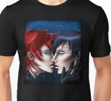 A Kiss in the Snow Unisex T-Shirt