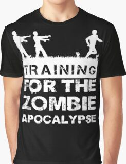 Training For The Zombie Apocalypse T Shirt Graphic T-Shirt