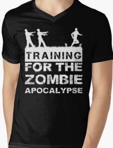 Training For The Zombie Apocalypse T Shirt Mens V-Neck T-Shirt