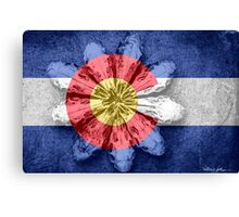 Colorado Bloom of Demise Canvas Print