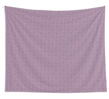 Rose doodle - grape and lavender Wall Tapestry